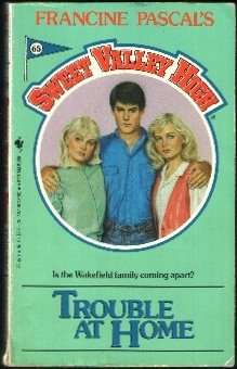 Full sweet valley high book series by kate william francine pascal trouble at home sweet valley high no 65 fandeluxe Image collections
