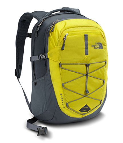 Cheap The North Face Borealis Backpack – Acid Yellow/Turbulence Grey – One Size