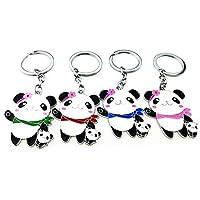 Letshopping® Panda Hometown Cute Panda Keychain