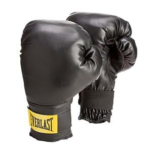 Everlast Train Wrist Wrap Heavy Bag Glove Level 1 (Black, 14-Ounce)