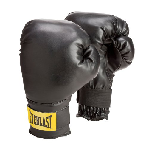 Everlast Train Wrist Wrap Heavy Bag Glove Level 1 (Black, - Brown Youth Footwear Combo
