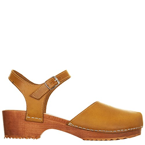 VialeScarpe Sas-7408tfgi_40 - Sandalias de vestir para mujer amarillo amarillo 40 amarillo