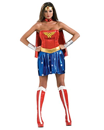 Comic Book Costumes Ideas Couples (Sexy Wonder Woman Costume Superhero Costumes Comic Book Sizes: Medium)