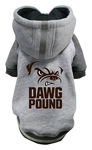 Hip Doggie NFL Browns Pet Hoodie, Large
