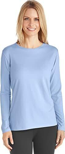 Coolibar UPF 50+ Women's Long Sleeve T-Shirt - Sun Protective