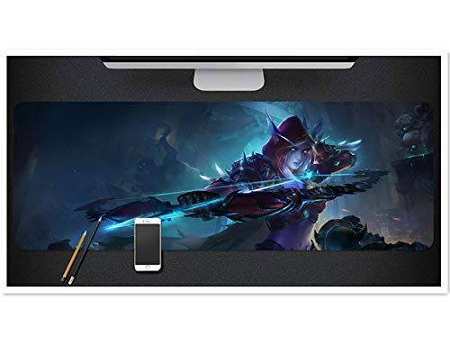 Mouse Pad,Professional Large Gaming Mouse Pad, World of Warcraft Mouse Pad,Extended Size Desk Mat Non-Slip Rubber Mouse Mat (11, 800 x 300 x3 mm / 31.5 x 11.8 x 0.12 inch)