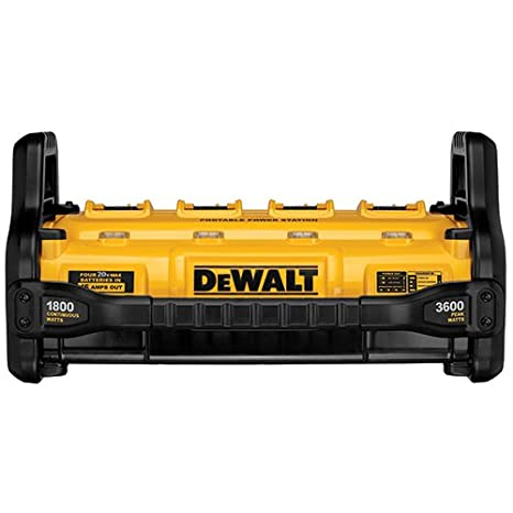 DEWALT FLEXVOLT Power Station, Portable, Tool Only (DCB1800B)