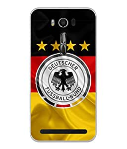 ColorKing Football Germany 16 Multi Color shell case cover for Asus Zenfone 2 Laser ZE550KL