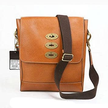 798318898933 Amazon.com   Mulberry Bag Slim Brynmore Messenger Oak   Cosmetic Tote Bags    Beauty