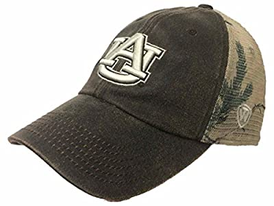 Auburn Tigers TOW Brown Realtree Camo Mesh Adjustable Snapback Hat Cap by Top of the World
