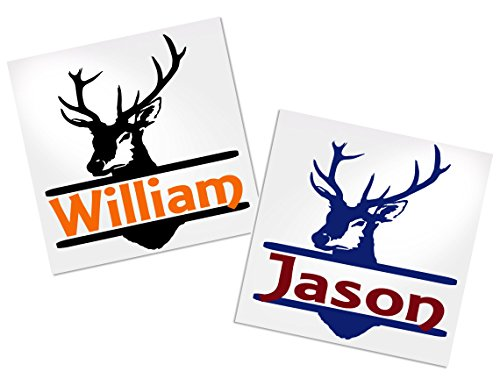 Yeti Deer Decal Stickers for Trucks Cups Tumblers Your Choice of Colors & Name | Decals by ADavis