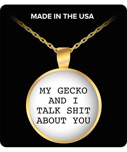 22Mugs Gecko Necklace for Women - Geckos MOM Stuff - Merchandise