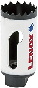 "Lenox Tools 3002929L LENOX Tools Bi-Metal Speed Slot Hole Saw with T3 Technology, 1-13/16"""