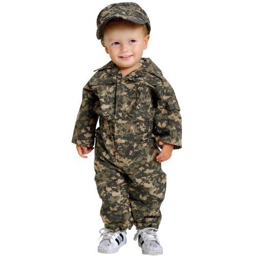 Aeromax Jr. Camouflage Suit with Cap, Size 18 Months