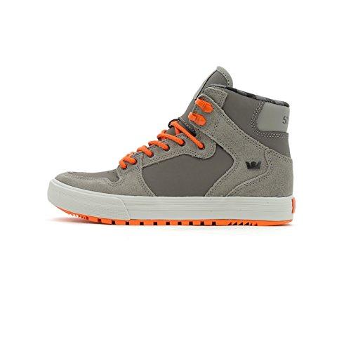 Supra Skytop S18091, Sneaker uomo Brushed Nickel/Flame