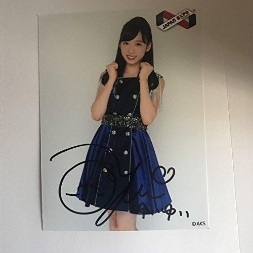 AKB48チーム8 小栗有以 直筆 サイン 入り生写真 JAPANEXPO THAILAND限定 ポスター生写真 選抜総選挙 選挙ポスター 選ポス BNK48