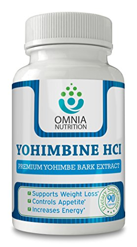 Omnia Yohimbine HCI - Tout Naturel - Made in USA