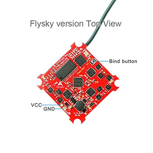 Wikiwand Crazybee Tiny F3 Drone Flight Controller FC with Flysky Receiver/4in1 ESC/OSD by Wikiwand (Image #2)