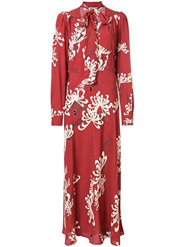 Alexander McQueen Women's 490870Rkb026318 Red Viscose Dress - Alexander Mcqueen Women Dresses