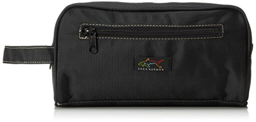 Greg Norman Men's Nylon Travel Kit, Black, One Size