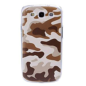 HP Khaki Camouflage Pattern Plastic Case for Samsung Galaxy S3 I9300
