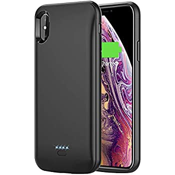 Amazon.com  iPhone Xs X Battery Case Vproof 6000mAh Portable Charger ... 0a9c6e1046a9d