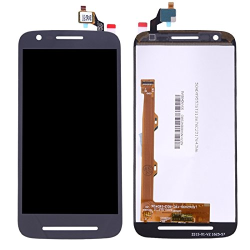 Price comparison product image iPartsBuy for Motorola Moto E3 / E3 Power / XT1700 / XT1706 LCD Screen + Touch Screen Digitizer Assembly(Black)