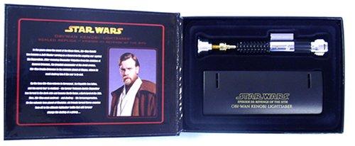 Obi-Wan Kenobi Lightsaber EP III (mini) by Master Replicas (Image #1)