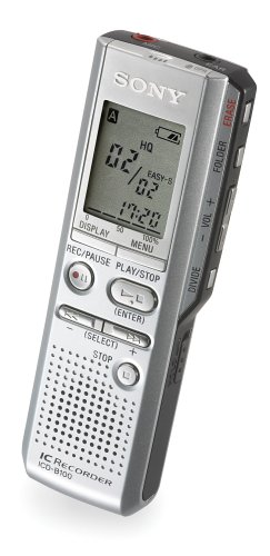 Sony ICD-B100 Digital Voice Recorder (Silver)