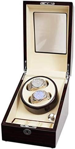 ウォッチワインダーウォッチワインダー、自動超静音2 + 3エピトープ5ファイルアジャスタブルモーターボックスウルトラBoxs巻静かな機械式腕時計