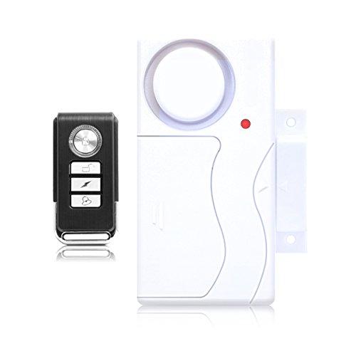 AISITIN Door Window Entry Security Alarm Wireless Remote Control Door Sensor Alarm Host Burglar Security Alarm System Home Protection Kit (Phone Entry Controller)