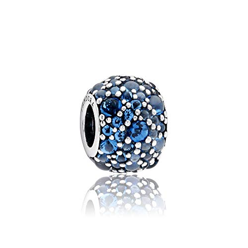 Pandora Shimmering Droplets Charm, London Blue Crystal 791755NLB