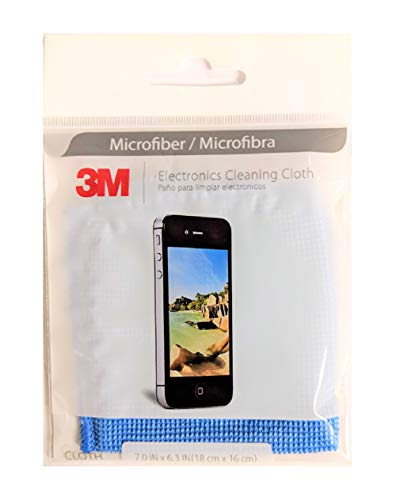 3M Microfiber Lens Cleaning Cloth - Pack of 5]()