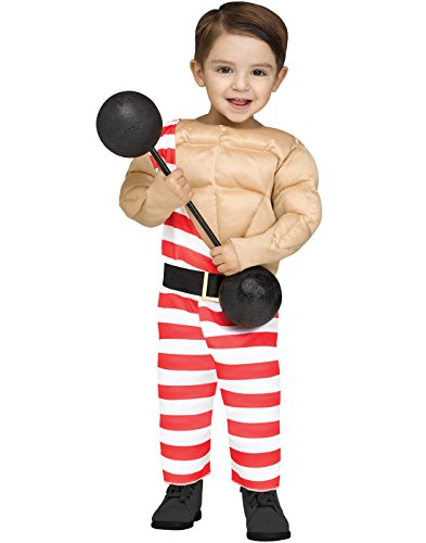 Carny Muscle Man Baby / Toddler Costume (Mens Carnival Costumes)