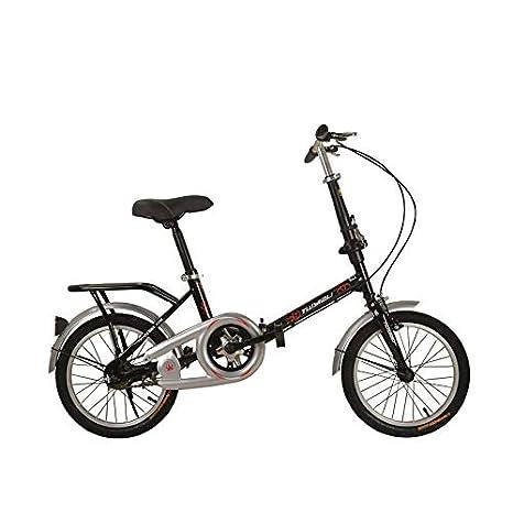LXYFMS Bicicleta, Bicicleta Plegable Regular For Estudiantes ...
