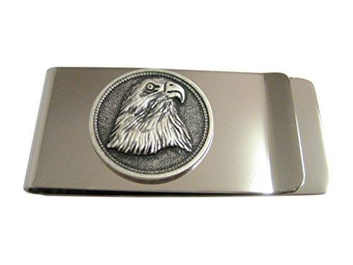 Round Eagle Bird Head Money (Eagles Paper Clip Holder)