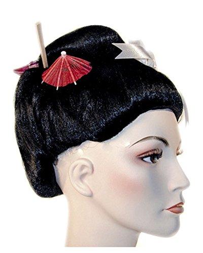 Lacey Wigs Geisha Fancy Bargain Black -
