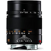 Leica 11684 Summarit-M 90mm/f2.4 Telephoto Lens, Black