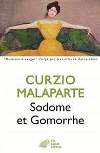 Sodome et Gomorrhe - La tête en fuite par Curzio Malaparte