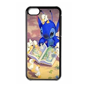 Wholesale Cheap Phone Case For Iphone 4 4S case cover -Lovely Stitch,Ohana Means Family-LingYan Store Case 17
