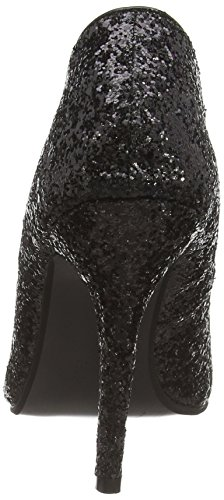 Spot OnF9666 - Zapatos de tacón para mujer Negro (Black)