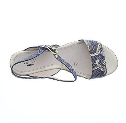 SECOND SKIN - Sandalias de vestir para mujer turquesa