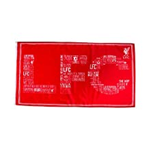 "Official LIVERPOOL FC large ""LFC"" logo flag 152cm x 91cm"