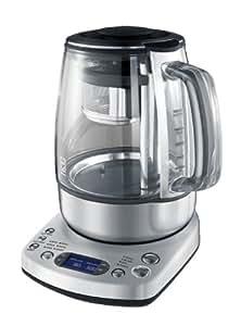 Gastroback Gourmet Tea Advanced Automatic, LCD, Plata, Transparente, 170 x 220 x 260 mm - Calentador de agua