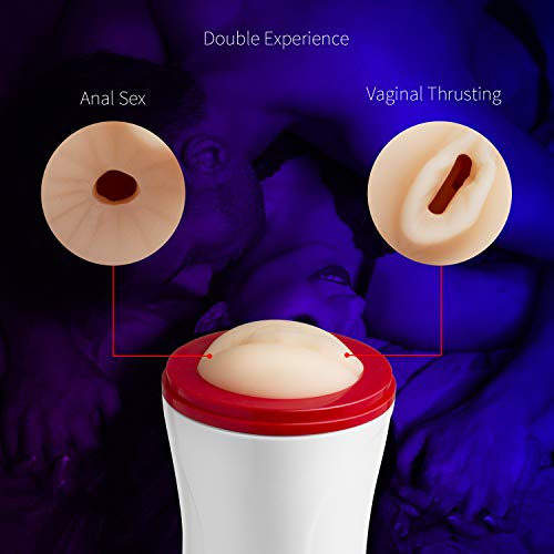 2-in-1-Male-Masturbator-Hand-Free-Silicone-Vagina-Pussy-Anal-Adult-Sex-Toys-Adjustable-Angle-Realistic-Textured-Pocket-Vagina-Anal-Gift--2018