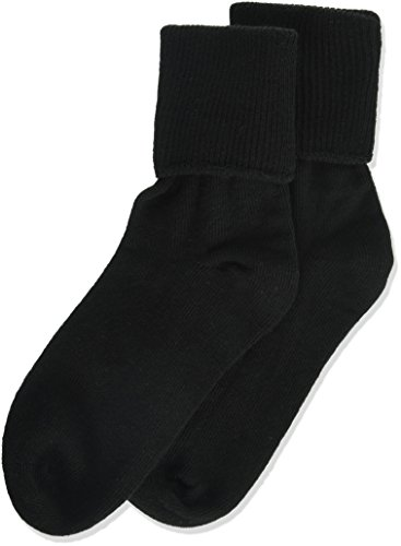 ee6612597 Galleon - Jefferies Socks Little Girls  Seamless Turn Cuff Socks (Pack Of  6)