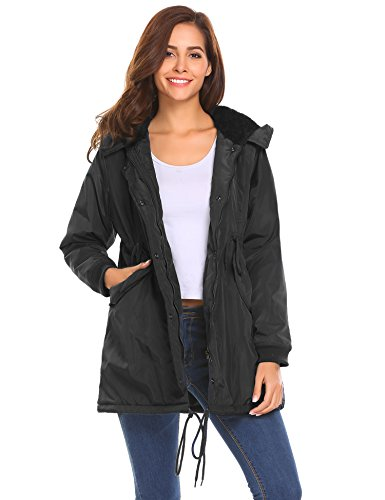 Quilted Hooded Long Down Jacket - 1