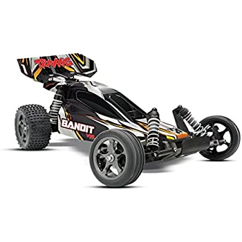 Traxxas 24076-3 Bandit VXL: 1/10 Scale 2WD Brushless Buggy with TQi 2.4GHz Radio and TSM, Black