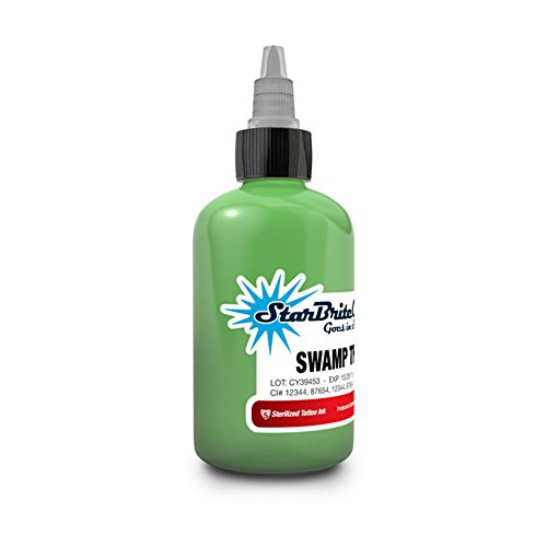 Price comparison product image StarBrite Colors Sterilized Tattoo Ink Swamp Thing 1oz