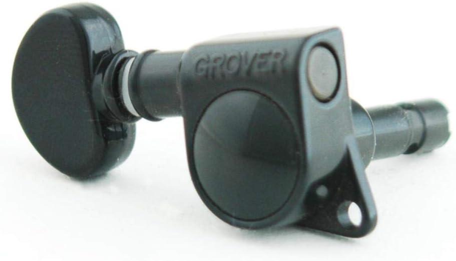 Chrome Grover 406C Rotomatic Mini 3 per Side Self Locking Machine Heads